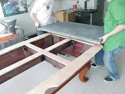 Pool table moves in Fort Wayne Indiana