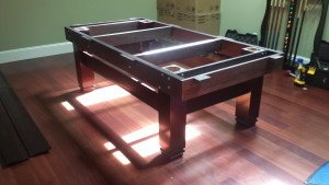 Correctly performing pool table installations, Fort Wayne Indiana