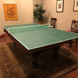 Brunswick Pool Table with Ping Pong Top