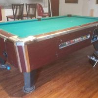 7' Valley Coin-Op Pool Table