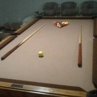 Super High Quality 8' Pool Table