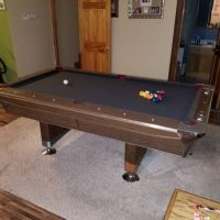 Vintage Fisher Empire VII Pool Table