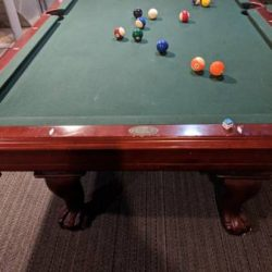 8' Legacy Pool Table