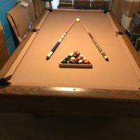 Slate Top Pool Table Made in Italy